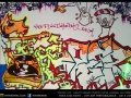 graffiti breakz purple turtle art camden